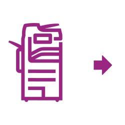 Altalink-Symbol violett