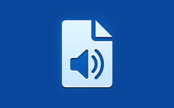 App-Symbol für Tondokumente