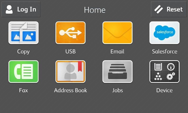 Screenshot Salesforce-Anwendung