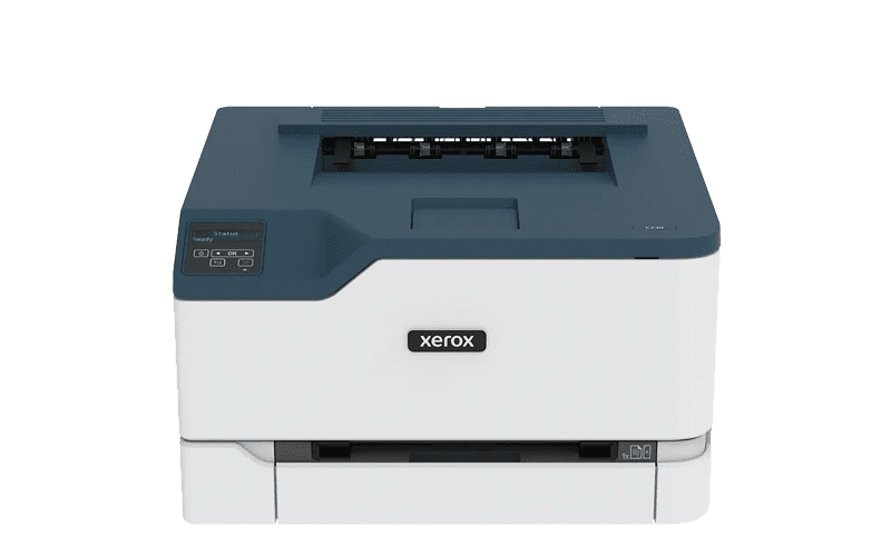 Xerox® C230 Multifonktionsdrucker Vorderansicht